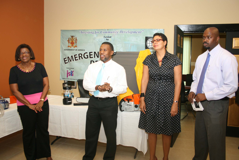 ODPEM Receives $J4 Million Jamaican Dollars Worth of Emergency Shelter Supplies