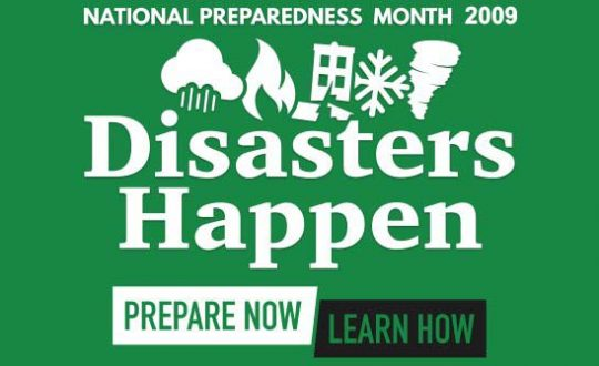 Hurricane Preparedness Month for May 2009